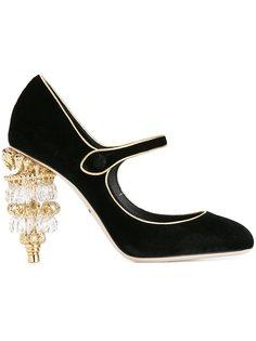 туфли на каблуке-люстре  Dolce & Gabbana