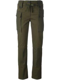 брюки карго прямого кроя Alexander McQueen