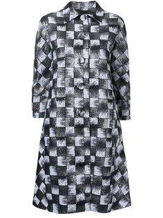 жаккардовое пальто  Rossella Jardini