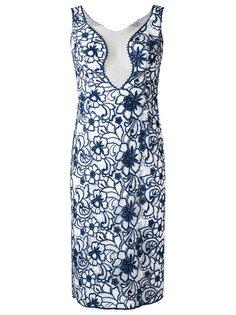 кружевное платье Raissa с цветочным узором Martha Medeiros