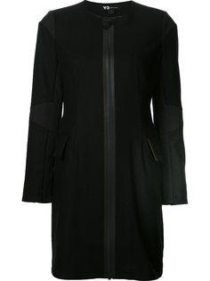 пальто с контрастной окантовкой Y-3