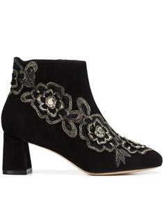 ботинки с цветочной аппликацией Sophia Webster