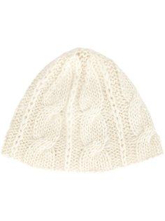 шапка вязки косичкой Ryan Roche