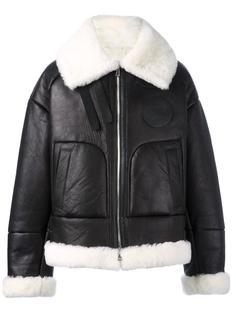 куртка-бомбер из овчины Juun.J