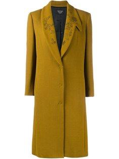 пальто с цветочным узором на лацканах Creatures Of The Wind