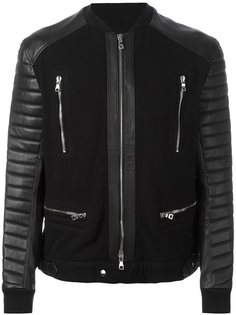 куртка на молнии  Balmain