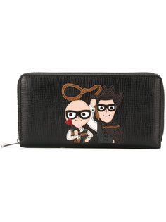 кошелек с заплаткой family Dolce & Gabbana