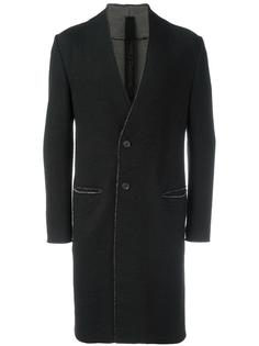 пальто без воротника Forme Dexpression