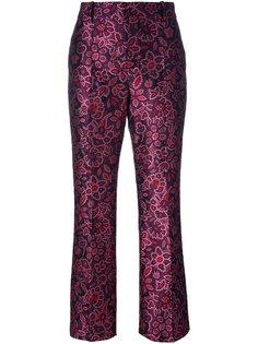 жаккардовые брюки Lanvin