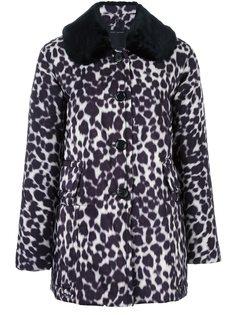 пальто с леопардовым принтом Marc Jacobs