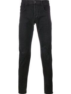 узкие рваные джинсы Rag & Bone