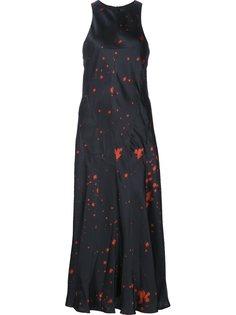 платье с брызгами краски Alexander Wang