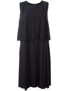 многослойное плиссированное платье Comme Des Garçons Comme Des Garçons