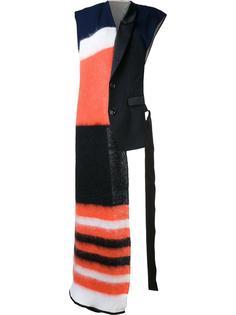 массивный полосатый шарф  Undercover