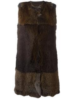 длинная жилетка Blancha