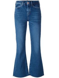 укороченные расклешенные джинсы Lou Mih Jeans