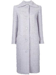 классическое длинное пальто Nina Ricci