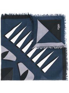 платок с принтом Fendi
