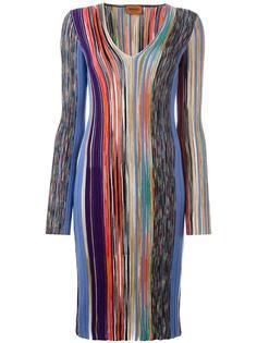 платье ребристой вязки Missoni