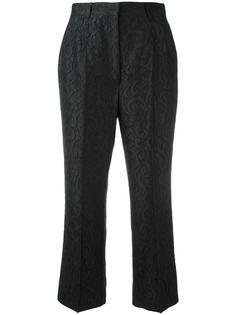 укороченные жаккардовые брюки Dolce & Gabbana