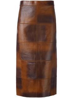юбка миди с панельным дизайном Tom Ford