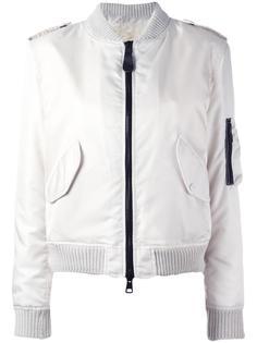 куртка-бомбер на молнии As65