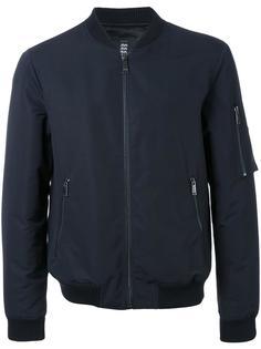 стеганая куртка-бомбер Kent & Curwen