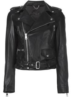классическая байкерская куртка Manokhi
