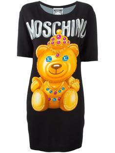платье-футболка  Moschino