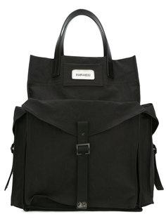 сумка-шоппер в стиле милитари Dsquared2