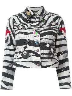 куртка с зебровым принтом Marc Jacobs