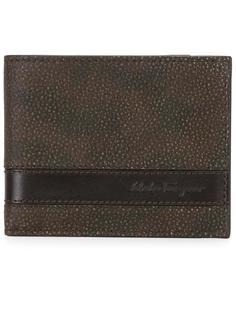 бумажник с камуфляжным принтом  Salvatore Ferragamo