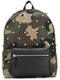 камуфляжный рюкзак с черепами Alexander McQueen