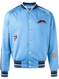 куртка бомбер с вышивкой Lanvin