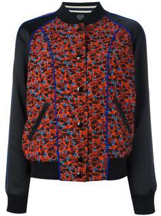 куртка бомбер с цветочным принтом Coach