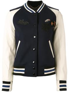 куртка с нашивками Coach