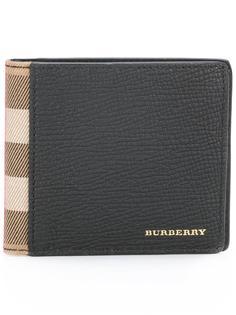 бумажник с отделкой в клетку Burberry