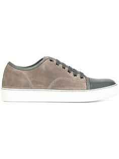 кроссовки с контрастным носком Lanvin
