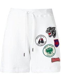спортивные шорты с нашивками Dsquared2