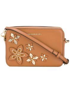 сумка на плечо с цветочной аппликацией Michael Michael Kors