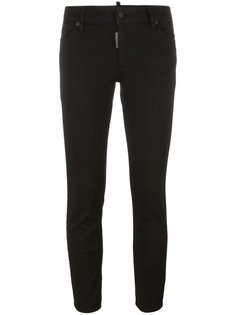 укороченные джинсы Twiggy Dsquared2