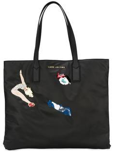 сумка-тоут с нашивкой в виде балерины Marc Jacobs