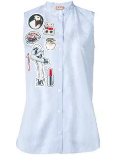 рубашка с заплатками Nº21