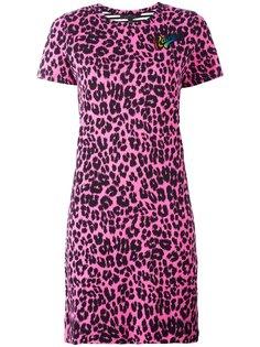 платье-футболка с лоскутным узором Marc Jacobs