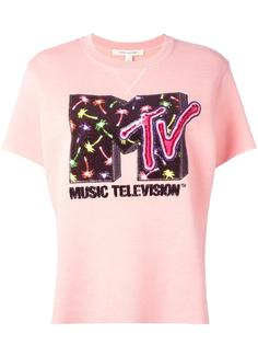 декорированная толстовка с короткими рукавами MTV x Marc Jacobs  Marc Jacobs