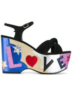 босоножки Candy 50 Love Saint Laurent