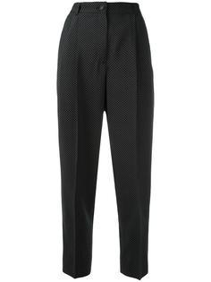 брюки с узором в мелкую точку Dolce & Gabbana