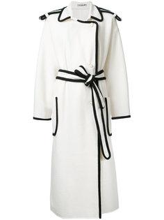 пальто с поясом Edeline Lee Edeline Lee