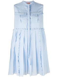 платье с плиссировкой Nº21