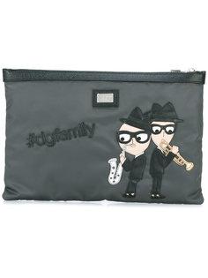 клатч с заплаткой designers  Dolce & Gabbana